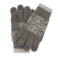 Перчатки Xiaomi Touchscreen Winter Wool Gloves Gray